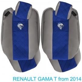 Sitzbezuge für RENAULT T-GAMA nach 2014 grau