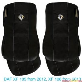 DAF XF 105 XF 106 Passform Schonbezüge Sitzbezüge VELOUR