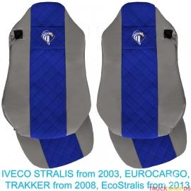 Sitzbezüge für IVECO STRALIS, EUROCARGO, ECOSTRALIS, Grau