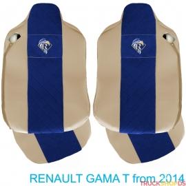Sitzbezüge für RENAULT T-GAMA nach 2014 beige