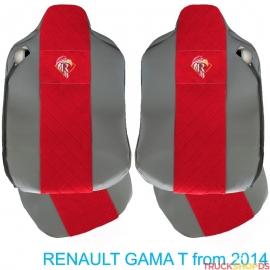 Sitzbezüge für RENAULT T-GAMA nach 2014 grau