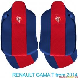 Sitzbezüge für RENAULT T-GAMA nach 2014 blau