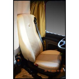 Sitzbezug aus Leder
